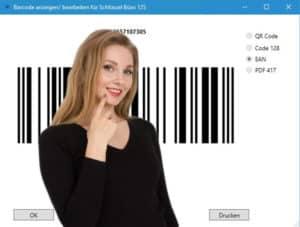 Barcodes und Schlüssel